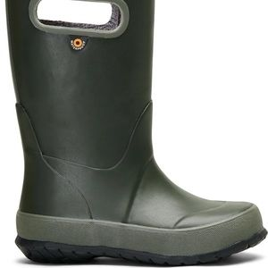 BOGS Green Rain Boot- size 2